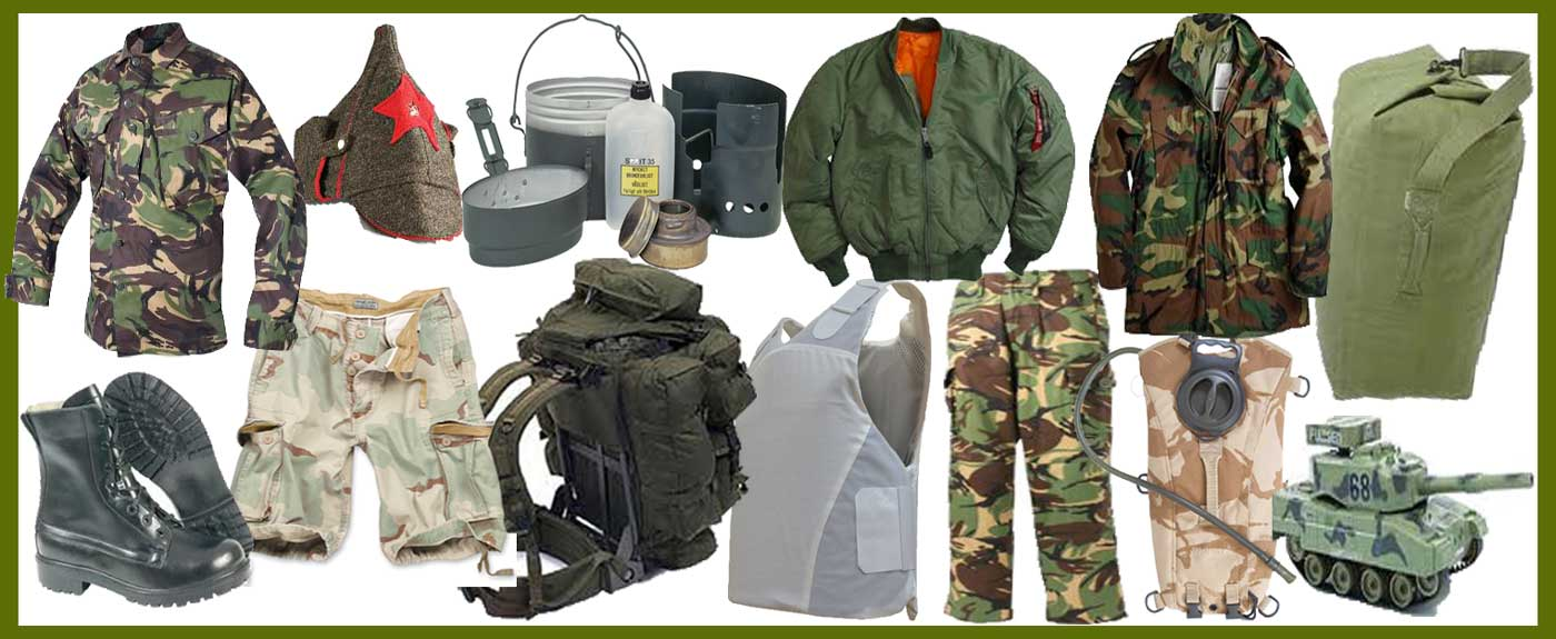 Image result for Top Quality Army Surplus Clothing